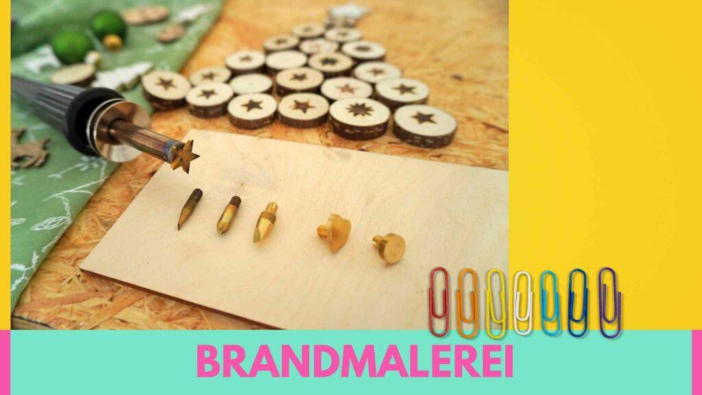 Onlinekurs Kreativkurs Brandmalerei - brennen