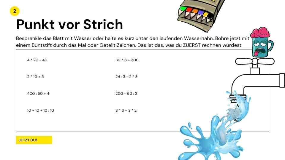 AGGRO MATHE - Mathematik lernen in der Homeschooling Zeit auf andere Art, Aufgabe 3