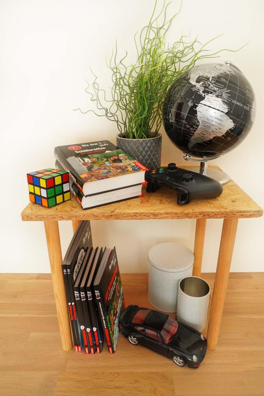 Bücherregal selber bauen - Möbel DIY für die drei ???