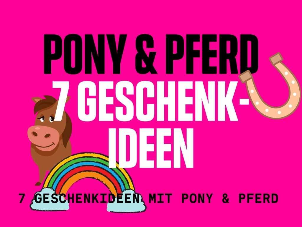 7 Geschenkideen für den Pferde oder Pony Kindergeburtstag