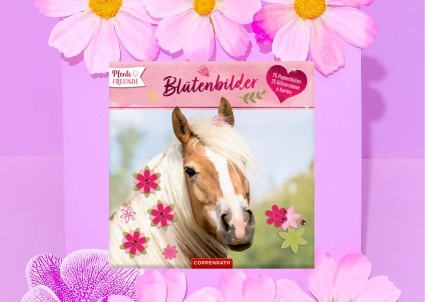 Blütenbilder - DIY Set mit Pferdebildern von Coppenrath