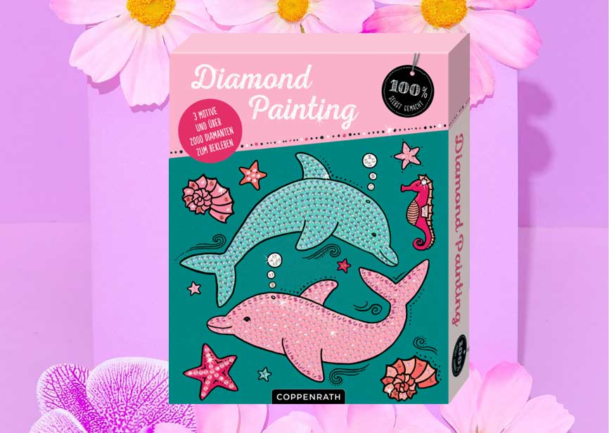 Diamond Painting Set für Kinder - Coppenrath Verlag