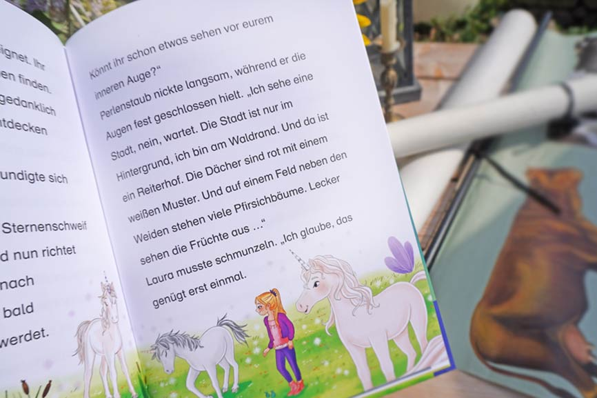 Sternenschweif - Blick ins Buch
