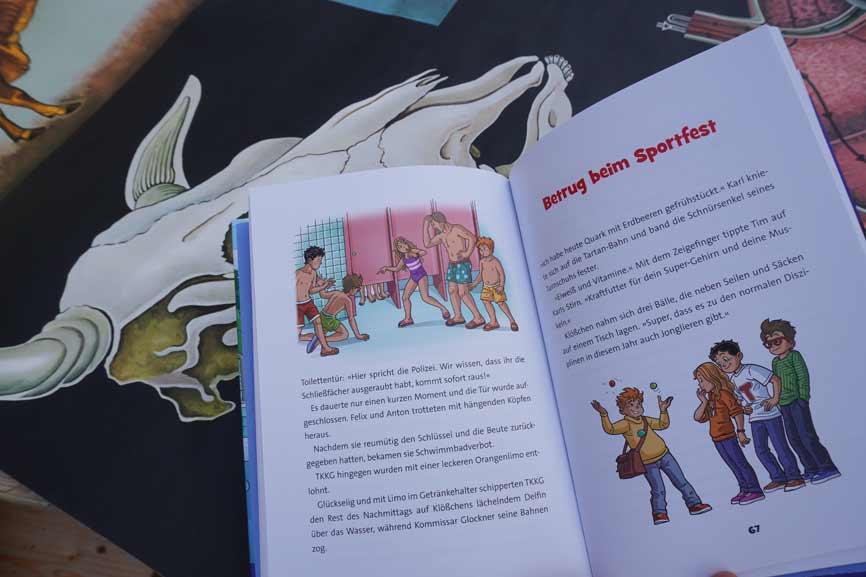 TKKG Junior - Kein Hitzefrei für Detektive - Blick ins Buch