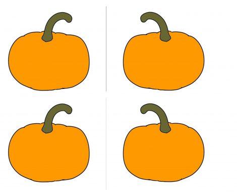 Gratis Vorlage Halloween Kürbis Mitgebseltasche zum selber machen
