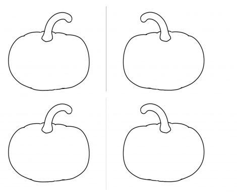 Gratis Vorlage Halloween Ausmalbild Kürbis Mitgebseltasche zum selber machen