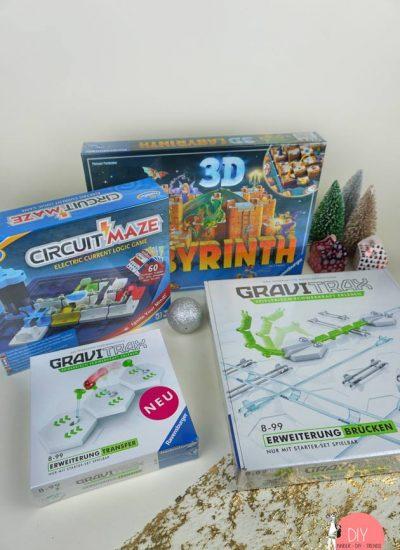 Gewinnspiel Verlosung 4 Spiele von Ravensburger und Thinkfun