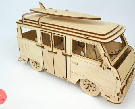 Holzbausatz VW Bus T1