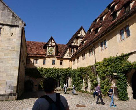 Besichtigung der Klosteranlage Bebenhausen mit Kindern