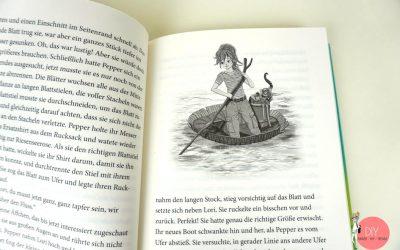 Leseprobe Pepper MINT Abenteuer Buch Kosmos Verlag