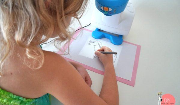 Zeichnen lernen mit App und Zeichenprojektor Smart Sketcher