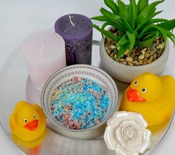 DIY Badesalz als Geschenk zum Muttertag