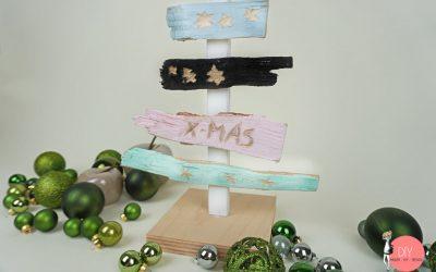 DIY Weihnachtsbaum selber machen - Bastelidee für Kinder mit DREMEL LITE