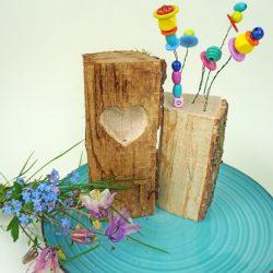 Muttertag Geschenk selber machen: Holz DIY mit DREMEL