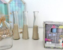 Anleitung Sandflaschenbilder