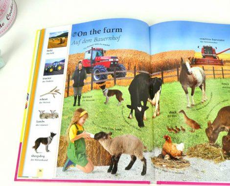 Mit Bildern Englisch lernen - Bauernhof Kinderbuch