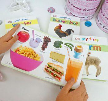 Englisch lernen mit Kinderbüchern - erste Worte