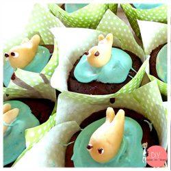 Anleitung Rezept Walfisch Cupcakes