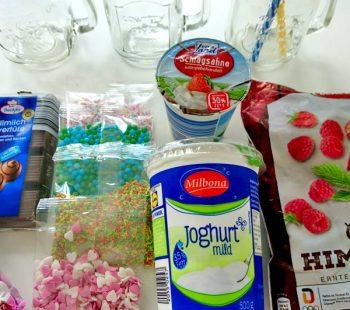 Eisshake für den Kindergeburtstag