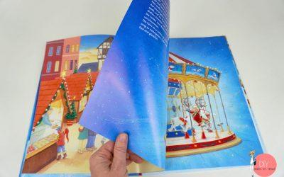 """Blick ins Buch, Bilderbuch zu Weihnachten mit """"Das magische Weihnachtskarussell"""""""