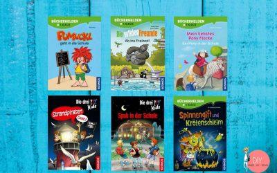 Buchtipps Kinderbücher zum Lesen lernen für Erstleser und Leseanfänger von KOSMOS
