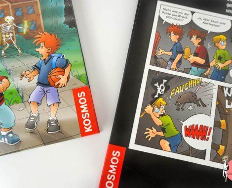 Comic und Lesebuch mit Die Drei ??? Kids