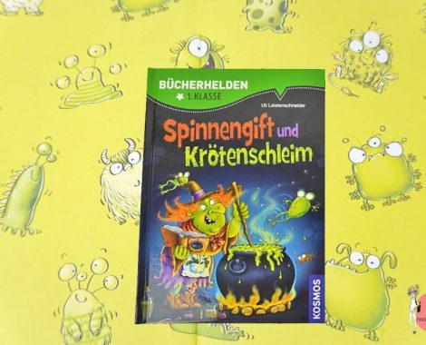Spinnengift und Krötenschleim Kinderbuch für Leseanfänger