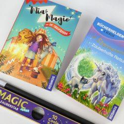 Zaubern lernen - mit Zauberstab und Zaubergeschichten Bücher