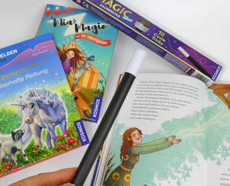 Zauberstab mit Zaubertricks und Bücher für Mädchen von KOSMOS