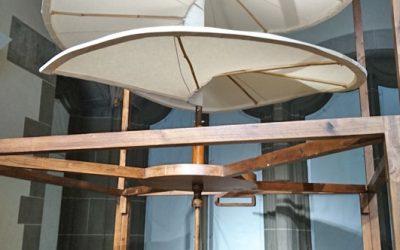 Fluggerät Hubschrauber Vorreiter von Leonardo da Vinci