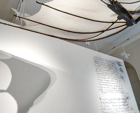 Leonardo da Vinci Ausstellung - Familienausflug