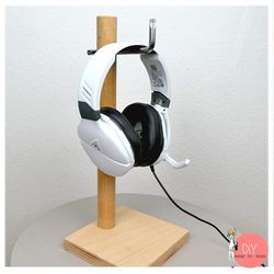 Anleitung Headset Halter aus Holz bauen
