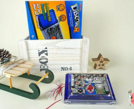 Experimentierkasten Musik mit elektrischem Stromkreis bauen
