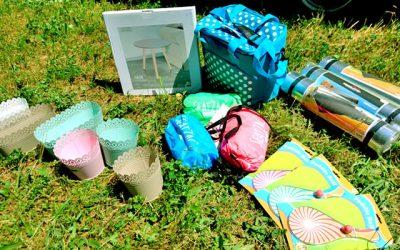 Seatzac, Picknick Sachen und Spiele für Kinder für draußen.