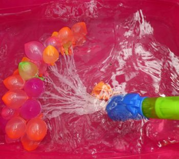 Wasserbomben zum Kindergeburtstag