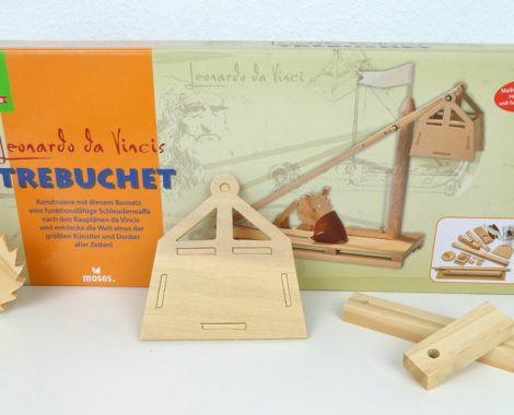 Inhalt und Verpackung Trebuchet - das ist im Katapult Set enthalten