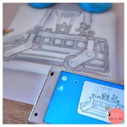 Anleitung Smart Sketcher zeichnen mit App