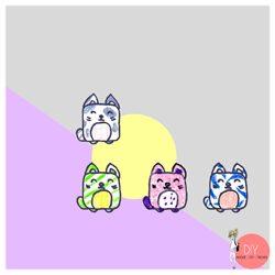 Anleitung Zeichenschule Kawaii Katze malen Schritt für Schritt
