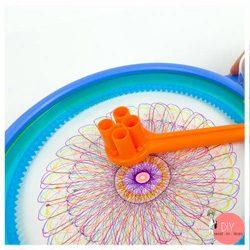 Anleitung Mandala malen mit Spiral Designer Machine