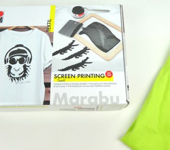 Marabu DIY Set Screen Printing Textil - Siebdruck