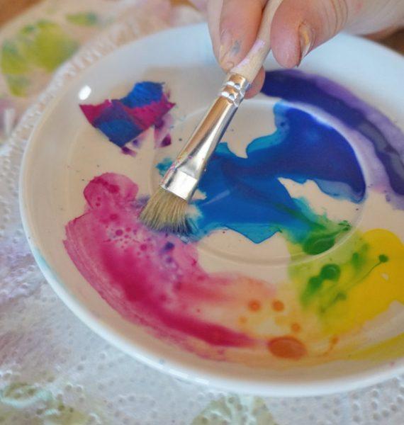 Aquarellfarben mischen - Grundfarben