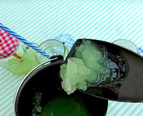 Slushy Eis aus der Eismaschinen