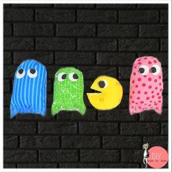 Anleitung Pac Man Monster nähen