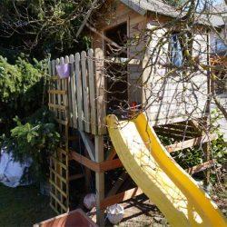 VORHER - NACHHER. Unser Gartenprojekt im Sommer: Spielhaus streichen und umbauen