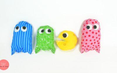 Gespenster von Pac-Man selber nähen