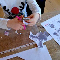 Anleitung für einen Papier Osterhasen