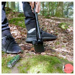 Anleitung Schatzsuche im Wald mit Klappspaten