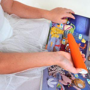 Wenn Kinder nicht gerne lesen, kann man sie mit tiptoi create fördern
