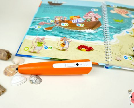 Kinderbuch mit tiptoi create Stift - so funktioniert es