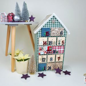 Adventskalender DIY im Hygge oder Landhaus Stil